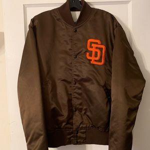 Vintage San Diego Padres Starter Jacket Sz L
